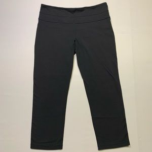 Lululemon crop leggings/tights in black